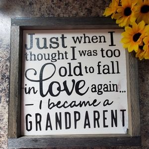 Handcrafted | Grandparent Love Sign - Wall Art